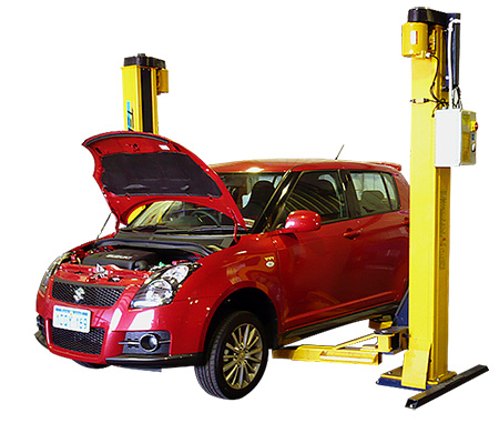 Suzuki Full Workshop Service for Red Suzuki Swift