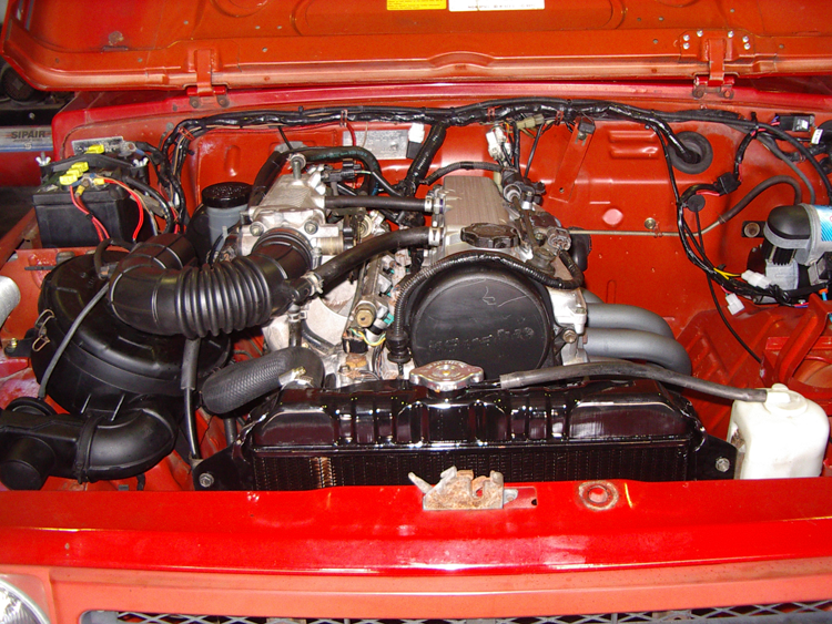 Suzuki stockman engine conversion