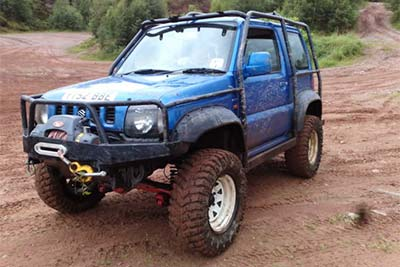 Suzuki Jimny Lift Kit for Off-Road Use